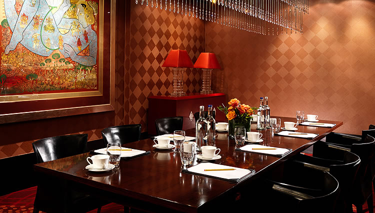 Aman Private Dining Lunch Meetings