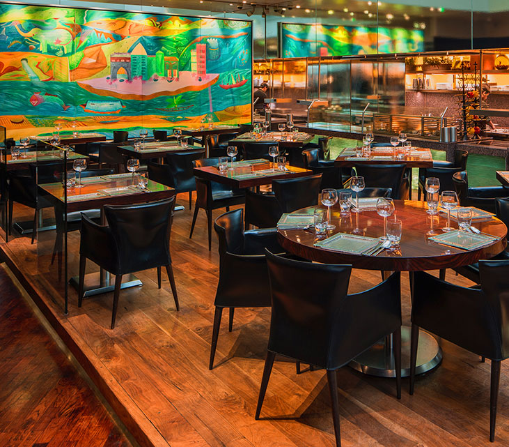 Amaya Michelin Starred Indian Restaurant In London Contemporary Grill Home